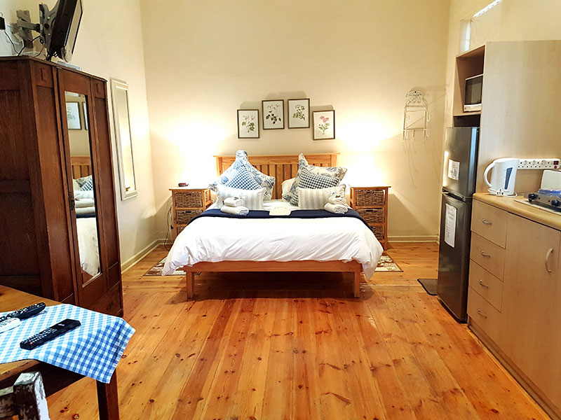 One of the Bedrooms at Karoorus Accommodation